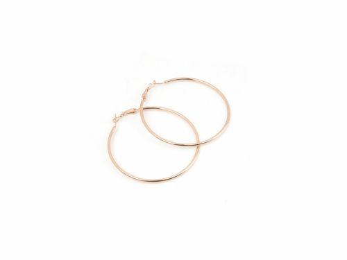 Σκουλαρίκι Κρίκος Rose Gold 60mm