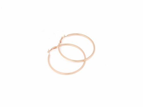 Κρίκος Τετραγωνισμένος Rose Gold 60mm