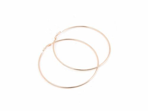 Σκουλαρίκι Κρίκος Rose Gold 90mm
