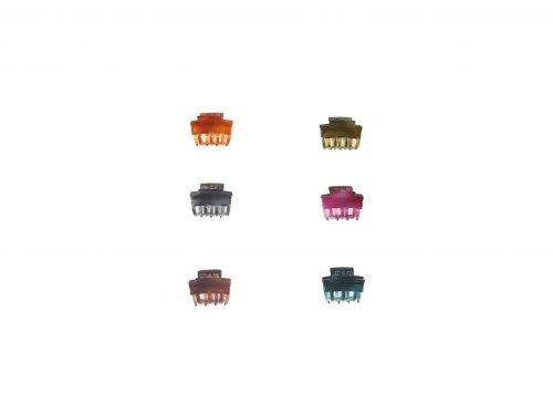 Κλάμερ 2.5 cm Χρώματα
