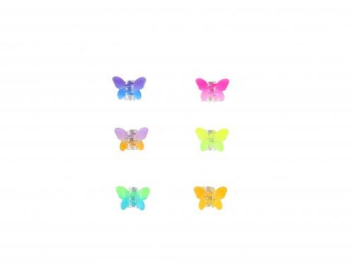 Κλαμεράκια Πεταλούδα 1.5 cm