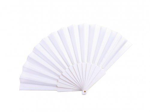 Βεντάλια Λευκή Πλαστική