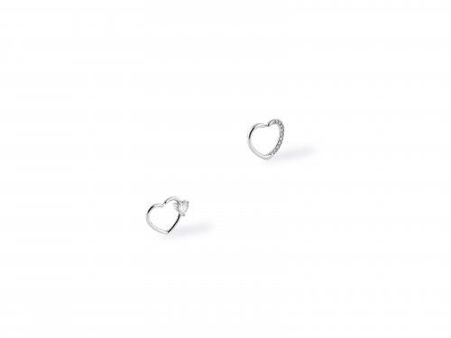 Fake σκουλαρίκι ear cuff καρδιά