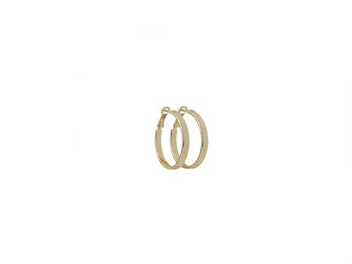 Σκουλαρίκι Κρίκος χρυσός 40 mm
