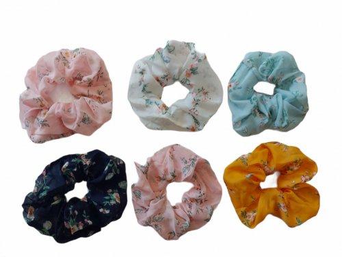 Σούρα μαλλιών floral XL