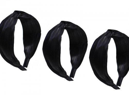 Στέκα μαλλιών με ύφασμα