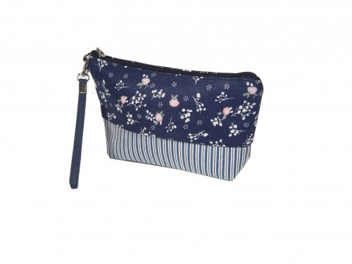 Cosmetic Bag Floral Jean