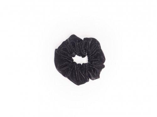 Σούρα βελουτέ μαύρη