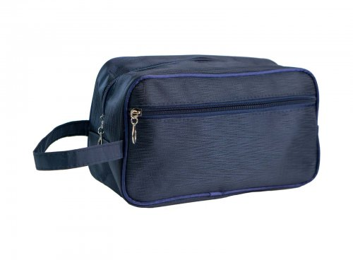 Cosmetic bag for men blue