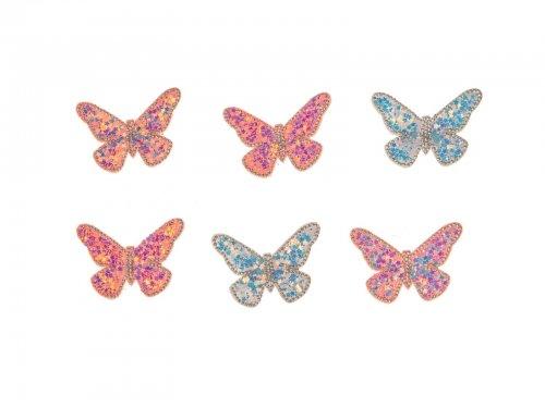 Παιδικό κλιπ μαλλιών πεταλούδα
