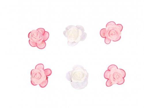 Κλιπ για παρανυφάκι Λουλούδι