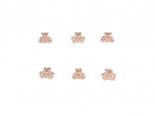 Κλάμερ μεταλλικό με πέρλες 2 cm
