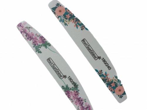 Λίμα νυχιών floral design 180/240