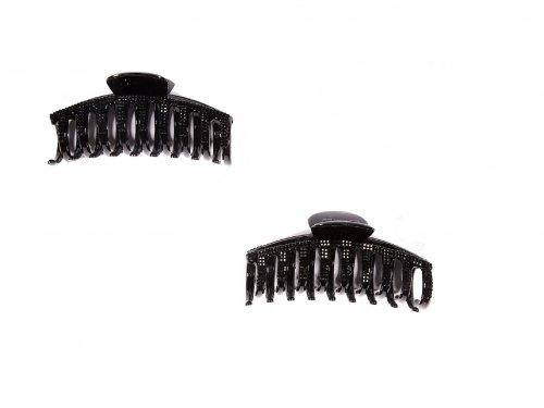 Κλάμερ με Μαύρα Στρας 11 cm