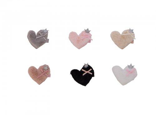 Παιδικό κλιπ γούνινη καρδιά