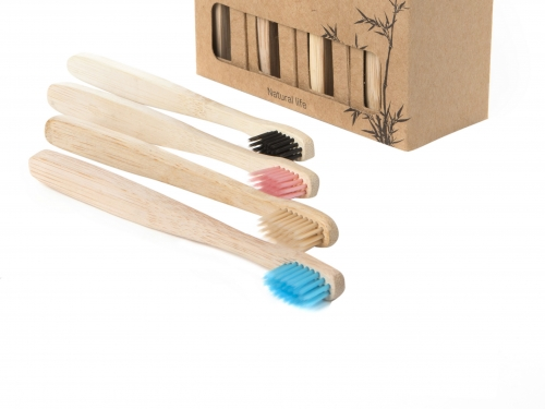 Eco Toothbrush, Natural Bamboo for Children