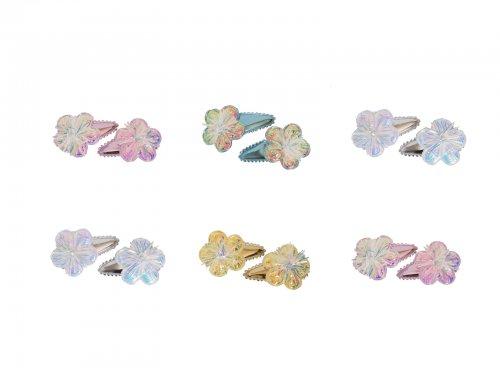 Παιδικό Κλικ Κλακ Λουλούδι , σετ 2 τμχ