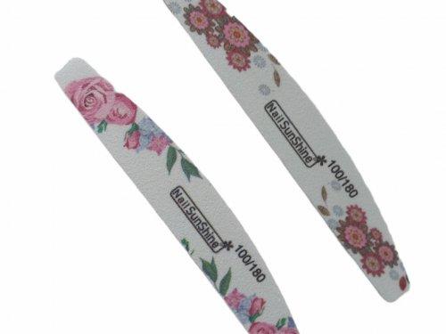 Λίμα νυχιών floral design 100/180