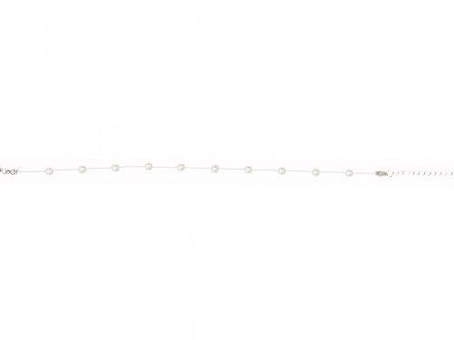 Αλυσίδα ποδιού με πετονιά, στρας 4 mm