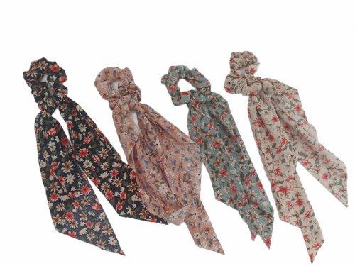 Σούρα μαντήλι μαλλιών floral 30 cm