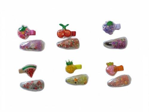 Παιδικό κλιπ summer fruits σετ 2 τμχ