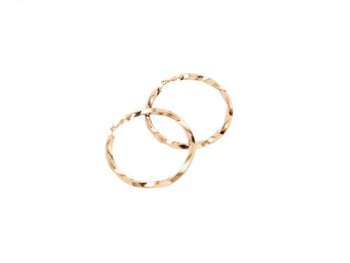 Σκουλαρίκι Κρίκος Χρυσός 80 mm
