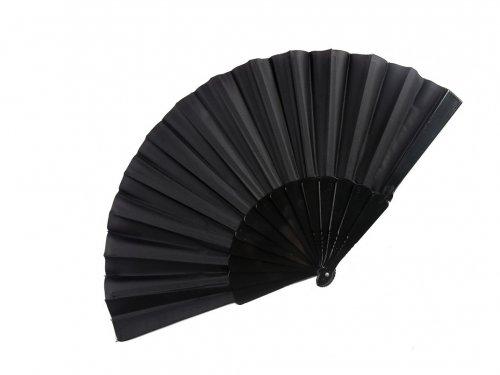 Βεντάλια Μαύρη πλαστική