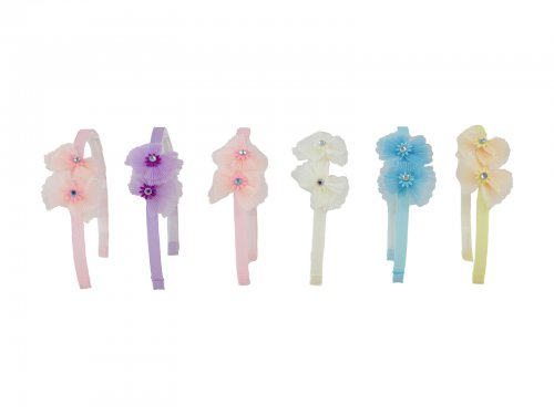 Παιδική στέκα μαλλιών με λουλούδια