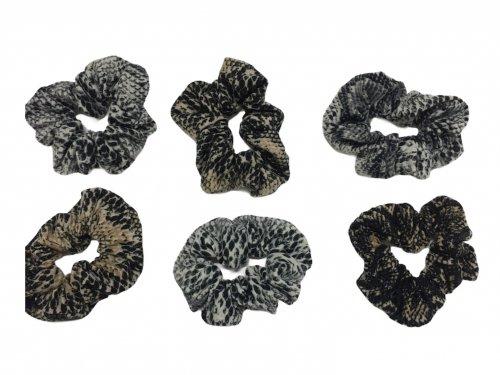 Σούρα μαλλιών snake print