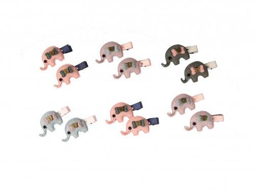 Παιδικό Κλιπ σετ 2 τμχ Ελέφαντάκια