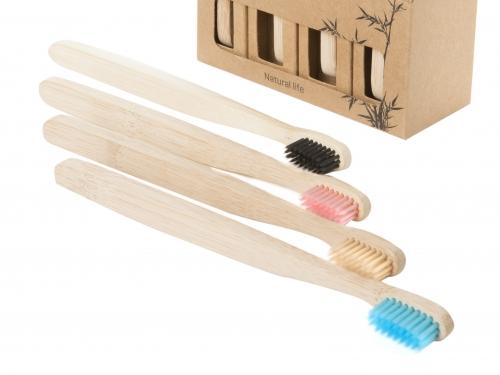 Eco Toothbrush, Natural Bamboo