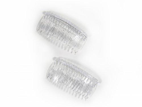 Χτενάκι Διάφανο 8 cm σετ 2 τμχ
