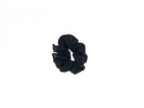 Σούρα μαλλιών μαύρη  σατέν