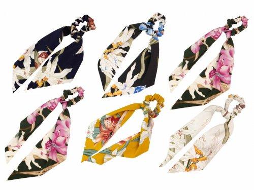 Σούρα μαλλιών μαντήλι floral