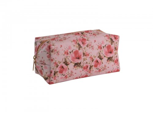 Cosmetic bag floral