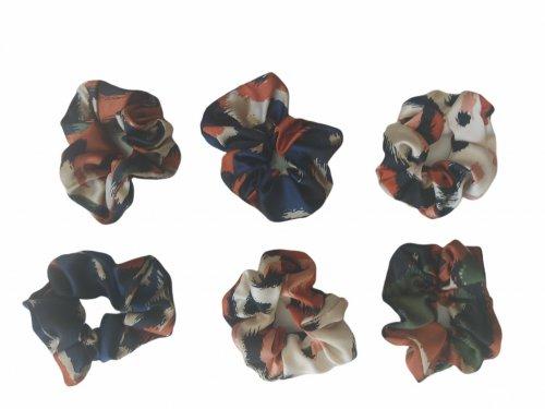 Σούρα μαλλιών fashion print
