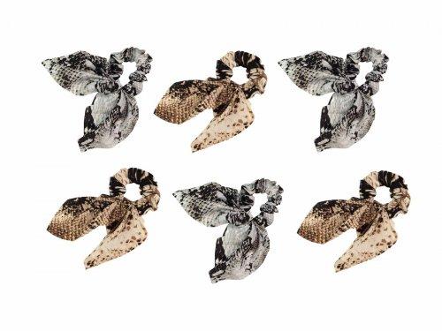 Σούρα μαλλιών  μαντήλι snake print