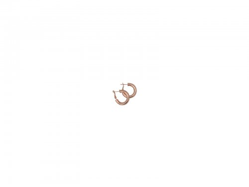 Σκουλαρίκι Κρίκος Rosegold 25 mm